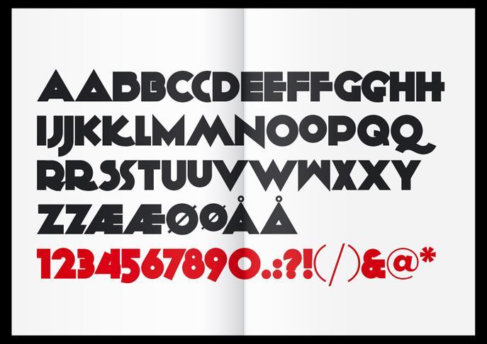 KiloGram font by KalleGraphics