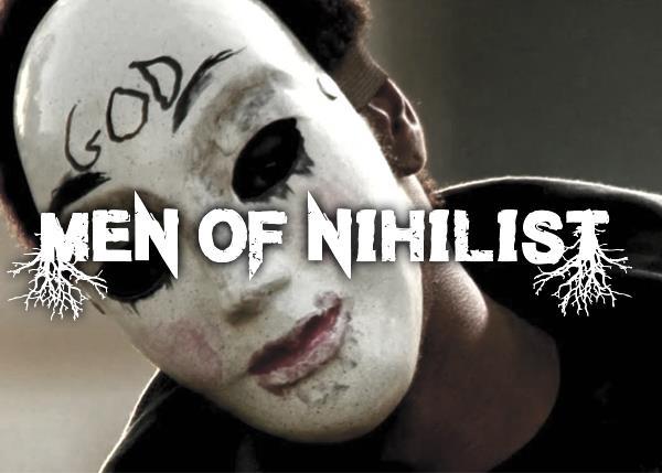 Men of Nihilist font by Font Monger