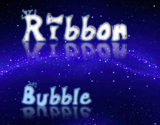 Ribbonbubble font by SHERLINE ❤ SUMMER