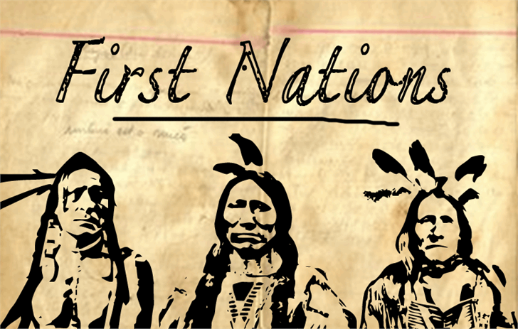 First Nation font by CloutierFontes
