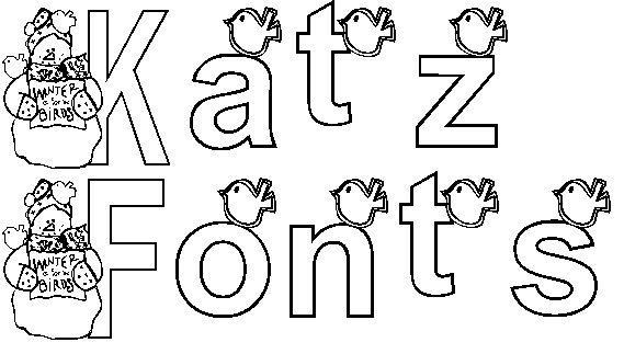 KG WINTERSNO font by Katz Fontz
