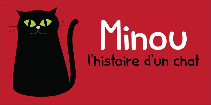 Minou DEMO font by David Kerkhoff