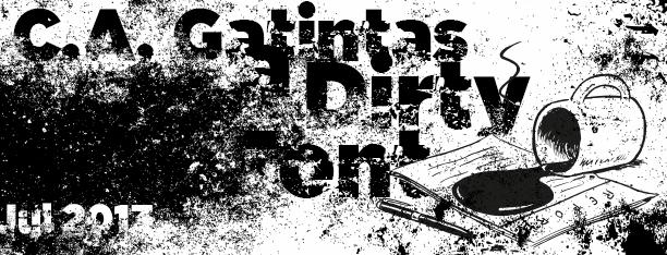 C.A. Gatintas font by deFharo