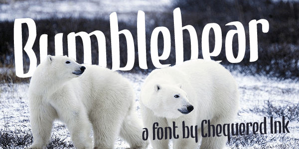 Bumblebear font by Chequered Ink