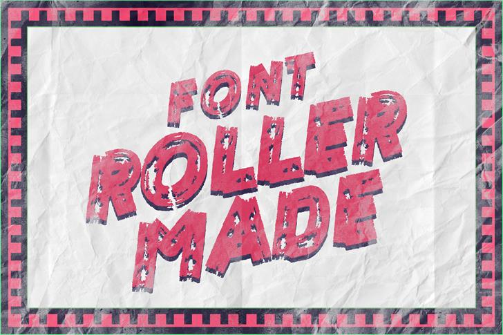 ROLLER MADE font by LeoSupply.co