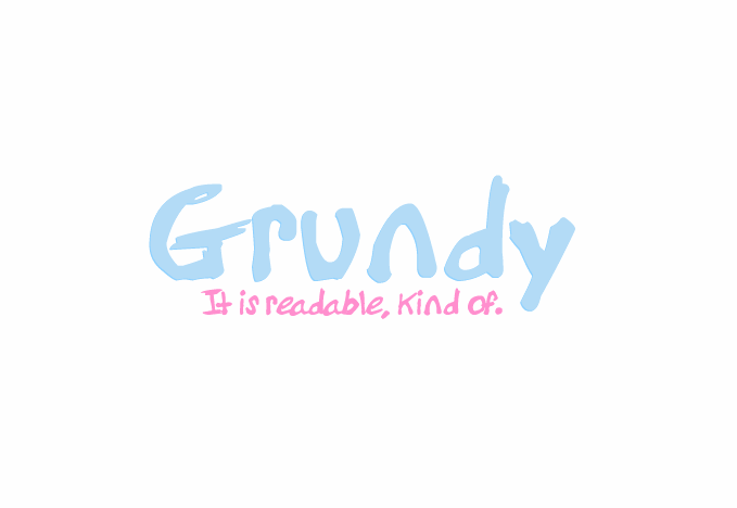 Grundy font by Splitfriction