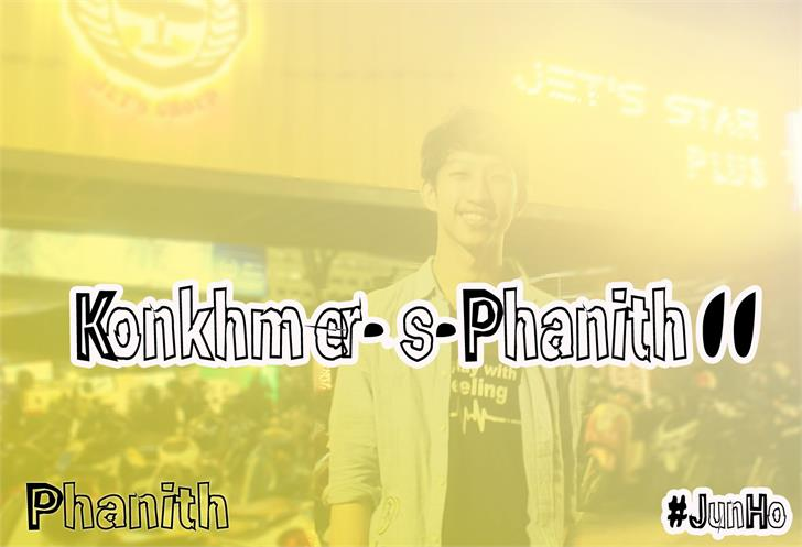 KonKhmer_S-Phanith11 font by Suonmay Sophanith