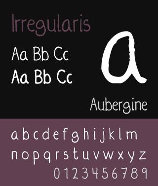 Irregularis font by Arman Ay