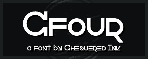 Cfour font by Chequered Ink