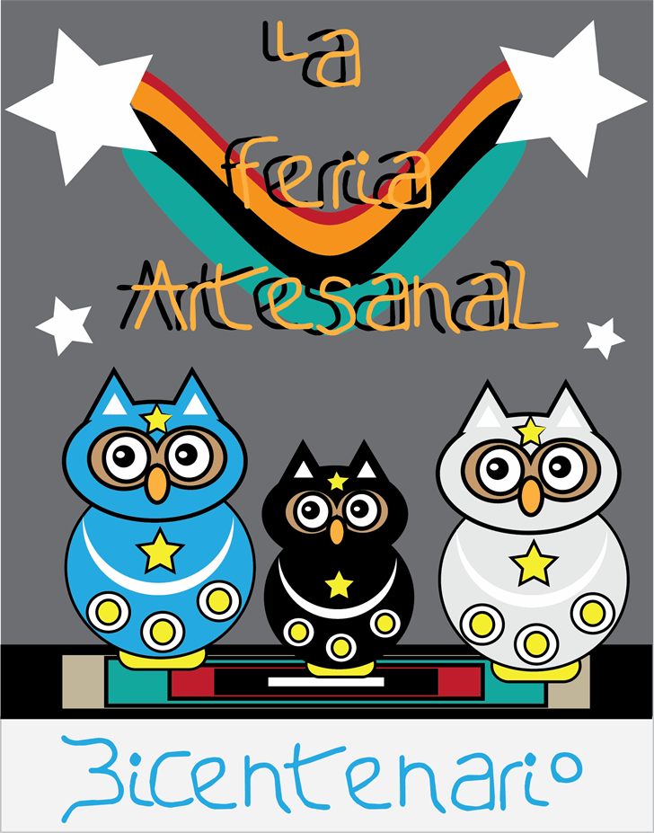 La Feria Artesanal font by Cé - al