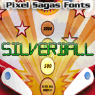 Silverball font by Pixel Sagas