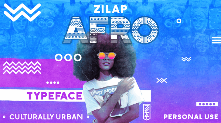 Zilap Afro font by ZILAP ESTUDIO - ZP