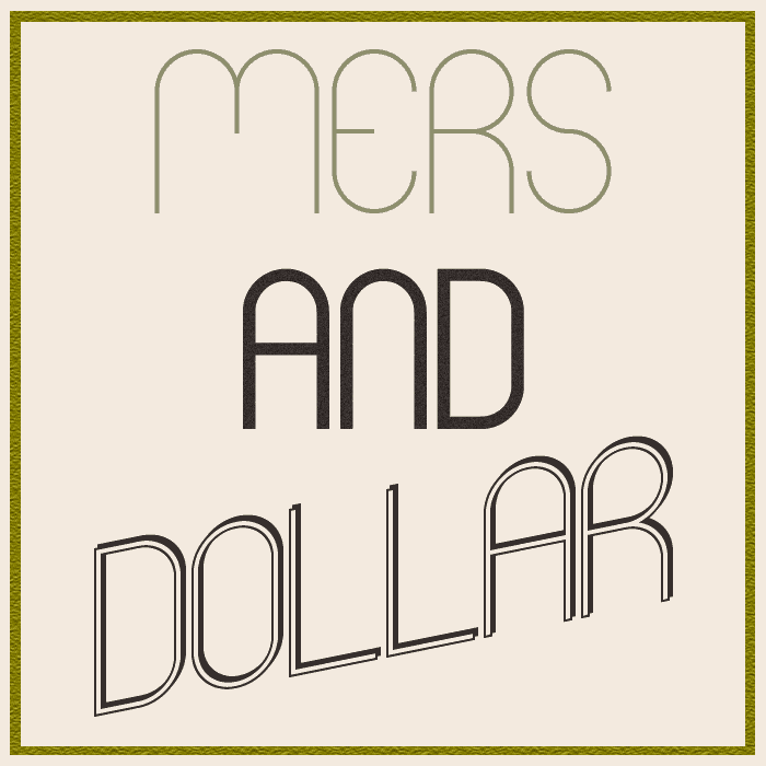 Mers font by Paulo R