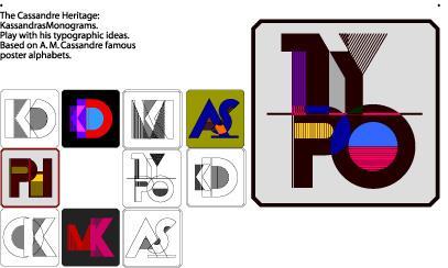 Cassandra font by Manfred Klein