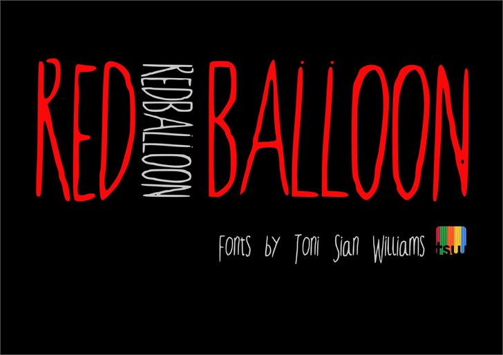 RedBalloon2 font by TSWcreative