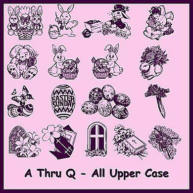 Destiny's Easter Dings font by Destiny's Designs