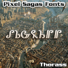 Thorass font by Pixel Sagas