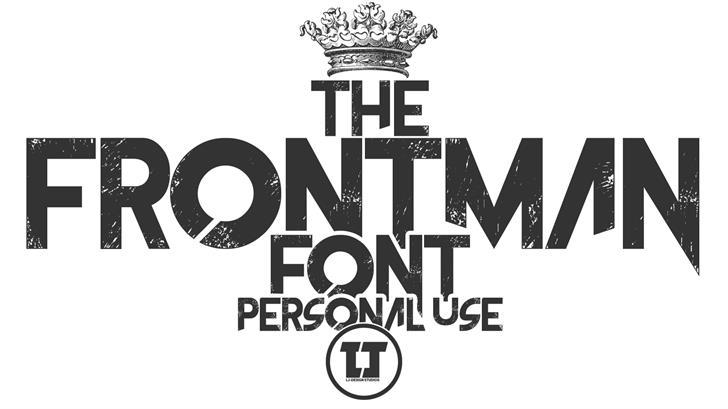 The Frontman font by LJ Design Studios