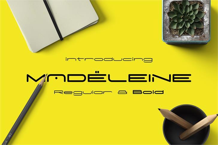 Madeleine font by madeDeduk