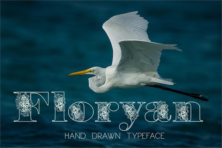 Floryan font by Eva Barabasne Olasz