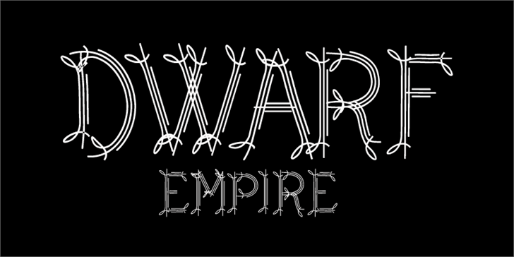 CF Dwarf font by CloutierFontes