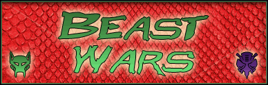 Beast Wars font by Pixel Sagas