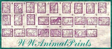 WWAnimalPrints font by WindWalker64