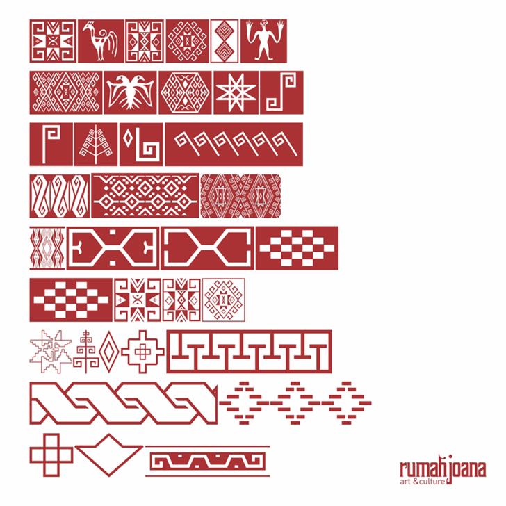 Ikatan font by joanatype