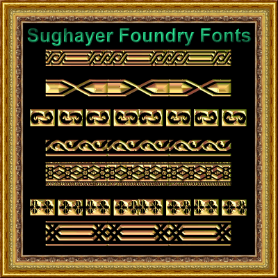 Vintage Borders_022 font by Sughayer Foundry