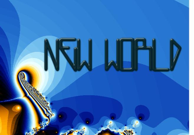 NewWorld font by M.Ramos
