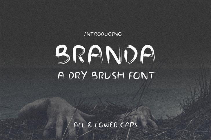Branda font by stokk.co