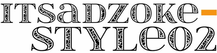 itsadzokeS02 font by gluk