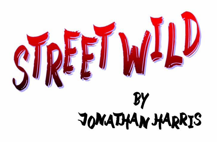 Street Wild font by Jonathan S. Harris