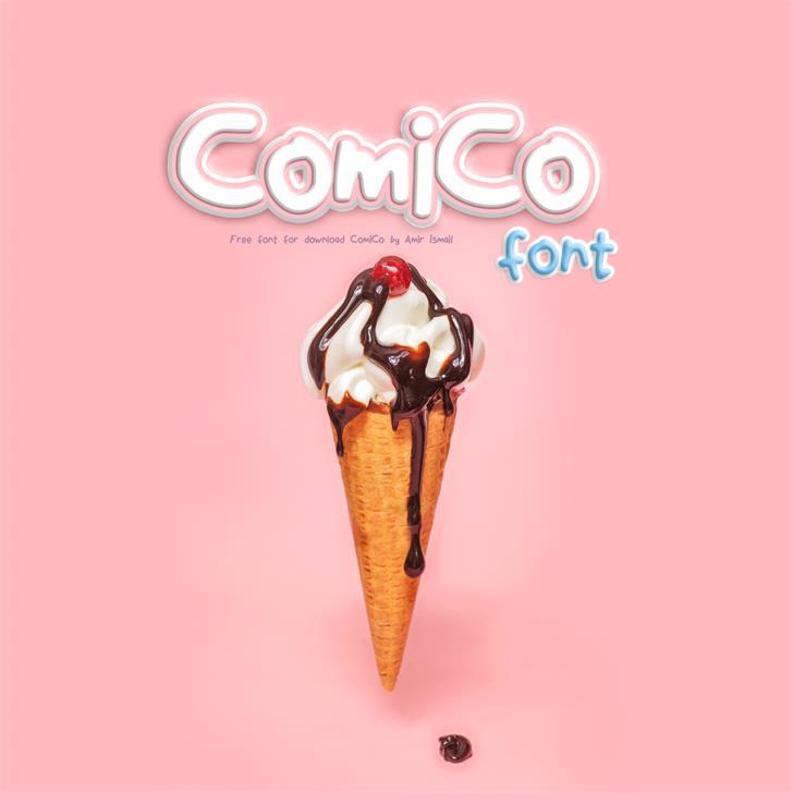ComiCo font by amirco