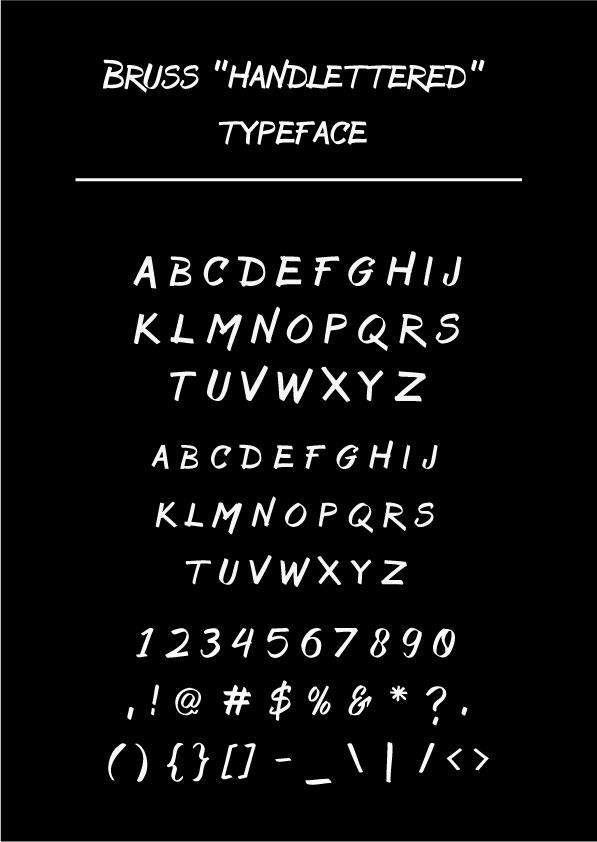 Bruss font by Alternatype