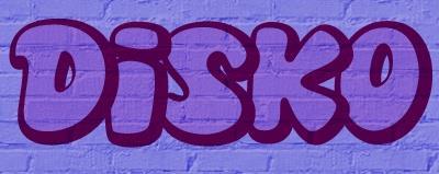 Disko font by Blue Vinyl