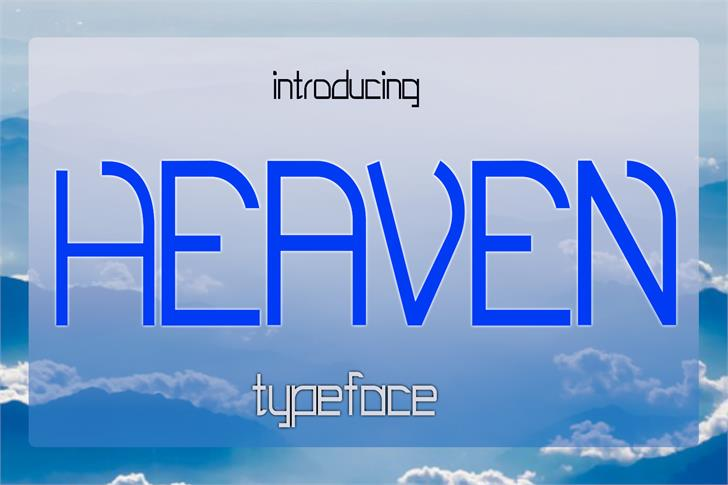 EP Heaven font by Emily Penley Fonts