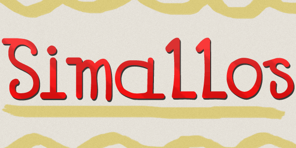 Simallos font by Paulo R