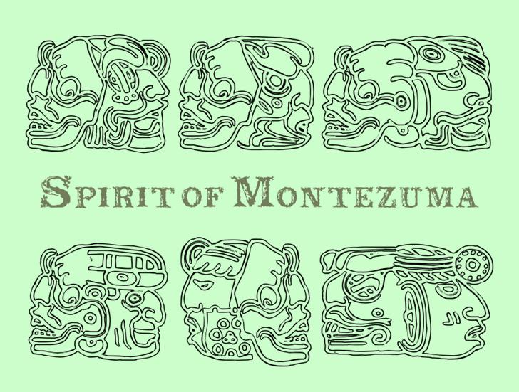 Spirit of Montezuma font by Intellecta Design