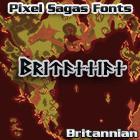 Britannian font by Pixel Sagas