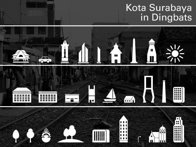 Kota Surabaya font by Gunarta