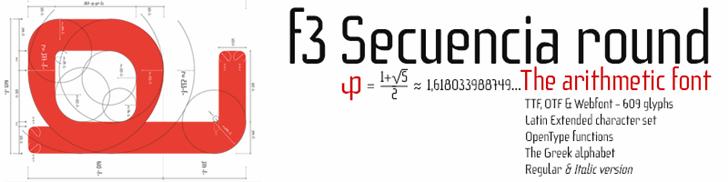 f3 Secuencia round ffp font by deFharo