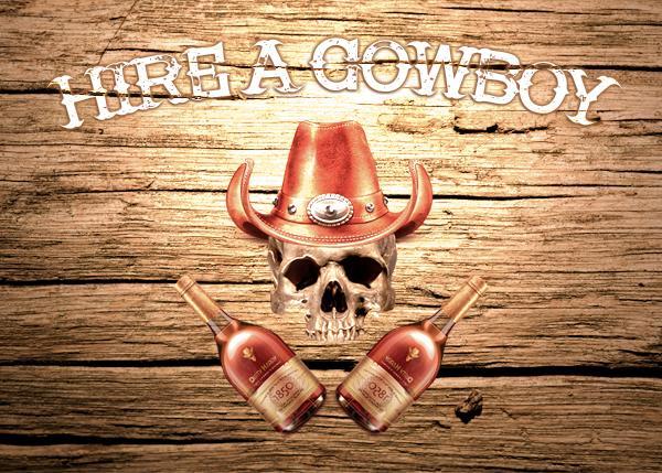 Hire a Cowboy font by Font Monger