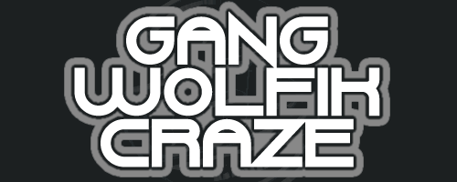 Gang Wolfik Craze font by Chequered Ink