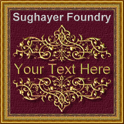 Vintage Elements_022 font by Sughayer Foundry