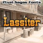 Lassiter font by Pixel Sagas