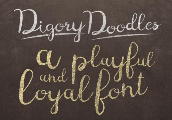 Digory Doodles font by Holds Worth Design