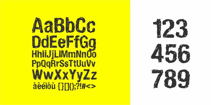 HandVetica font by Zetafonts