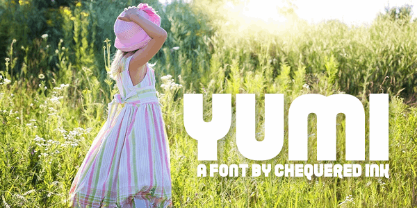 Yumi font by Chequered Ink