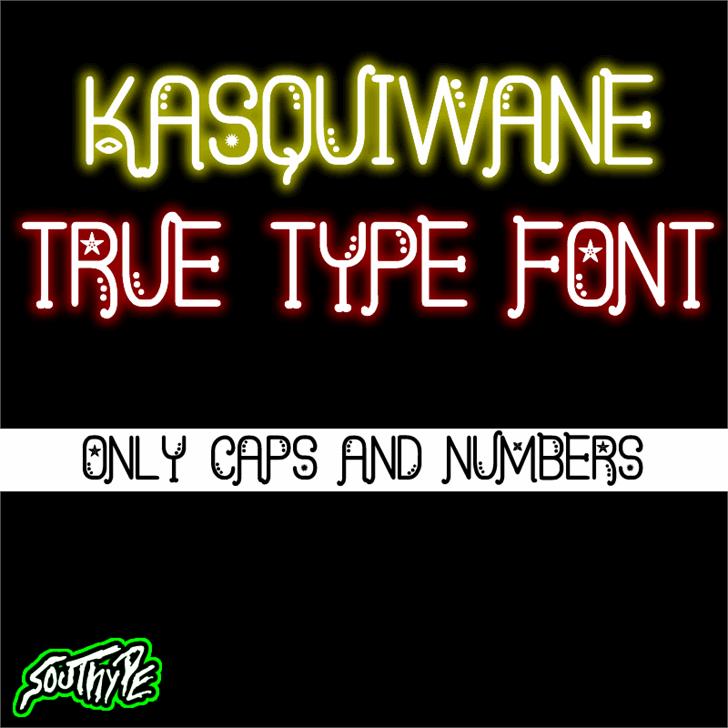 Kasquiwane St font by Southype